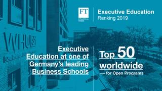 Financial Times Executive Education Ranking 2019
