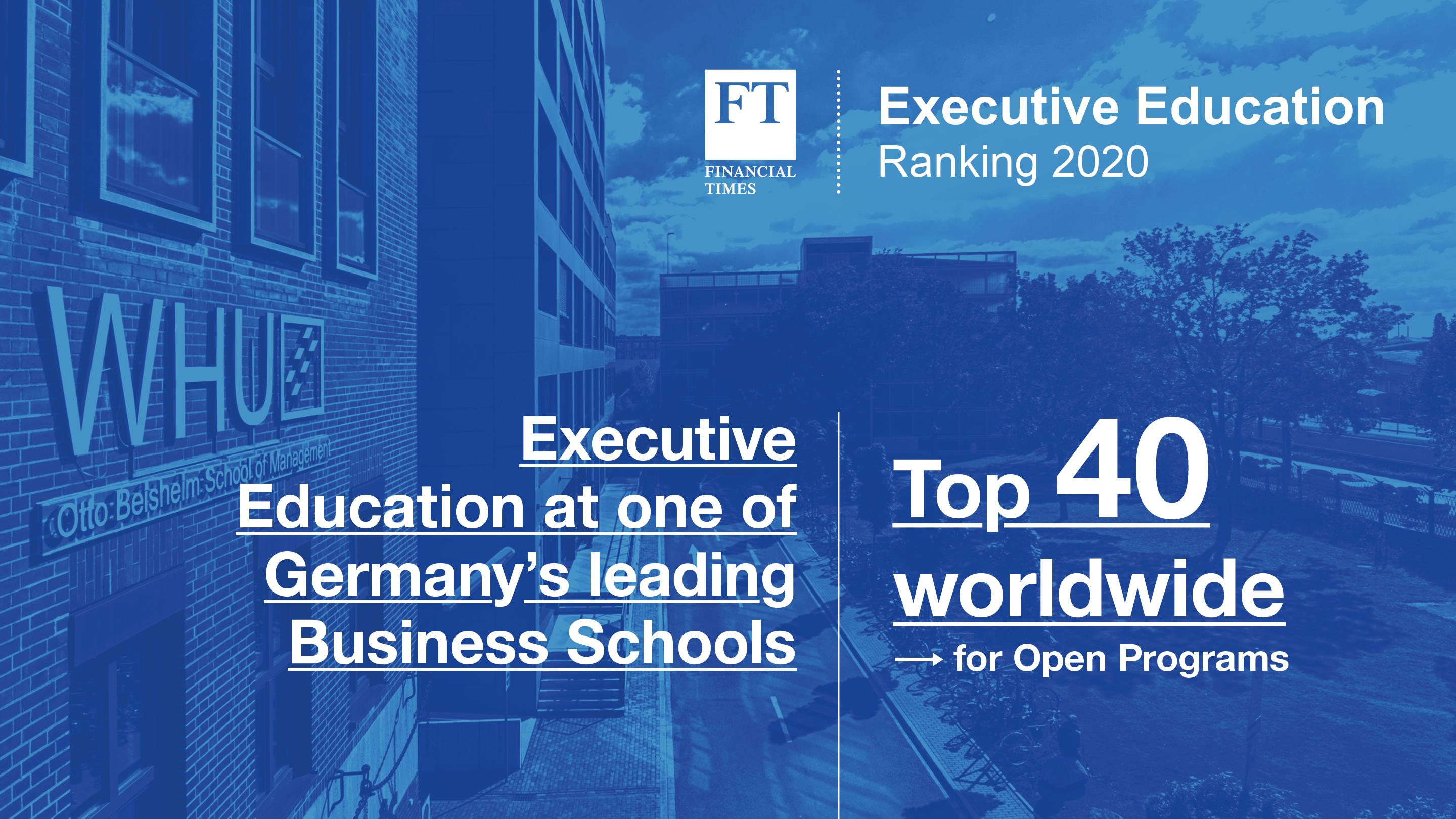 Financial Times Executive Education Ranking