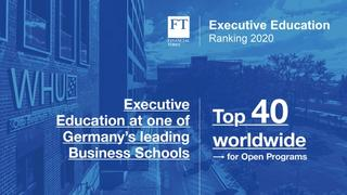 Financial Times Executive Education Ranking