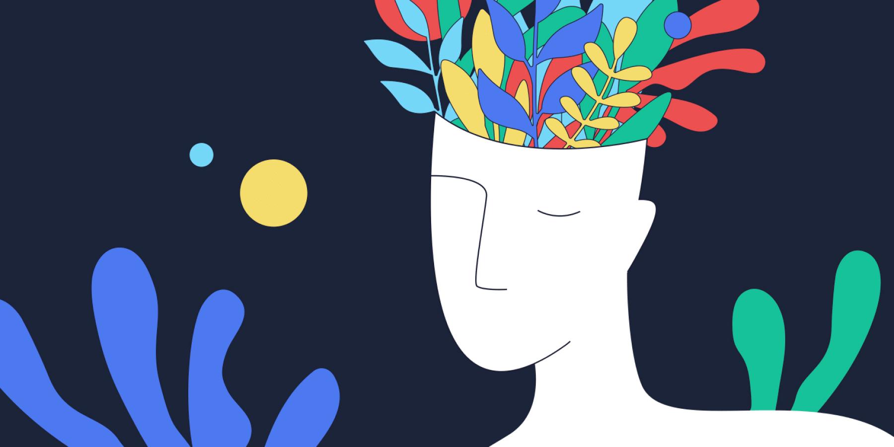 mental health in tech illustration