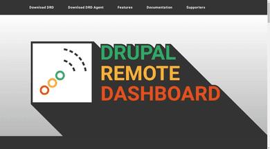 Drupal Remote Dashboard website