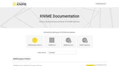 KNIME Documentation