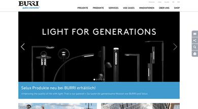 BURRI AG website
