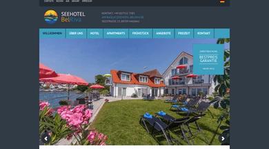 Seehotel BelRiva website