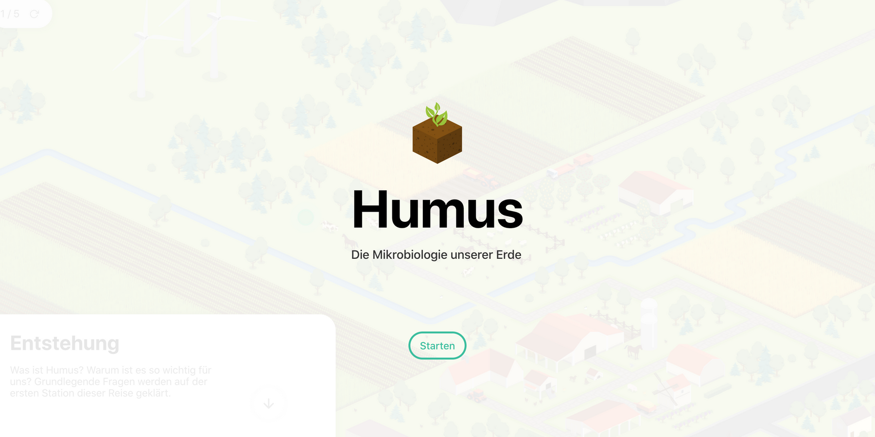 Save humus – the microbiology of our earth
