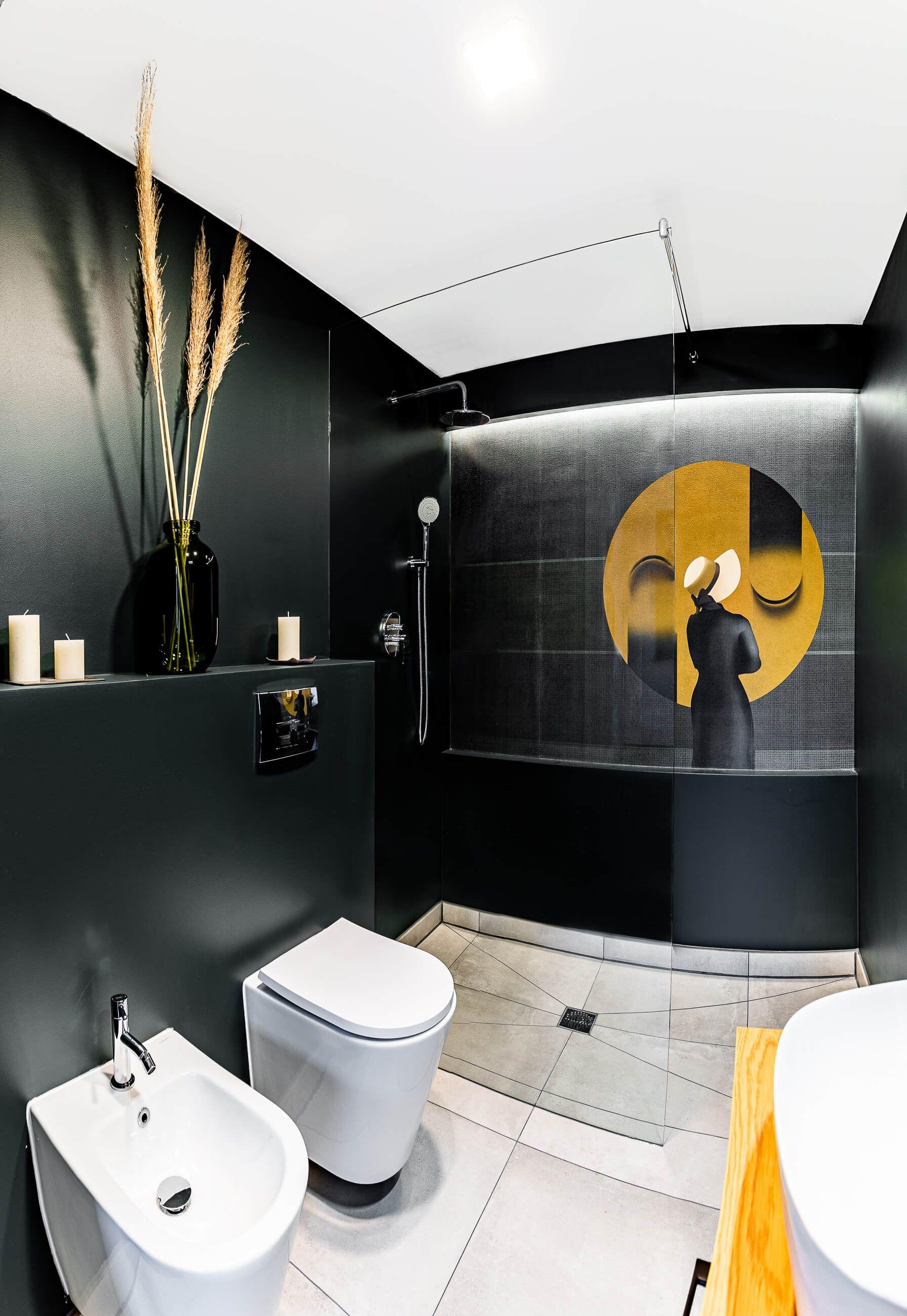 Zdjęcie luksusowej łazienki z seshu zdjęciowej w Poznaniu