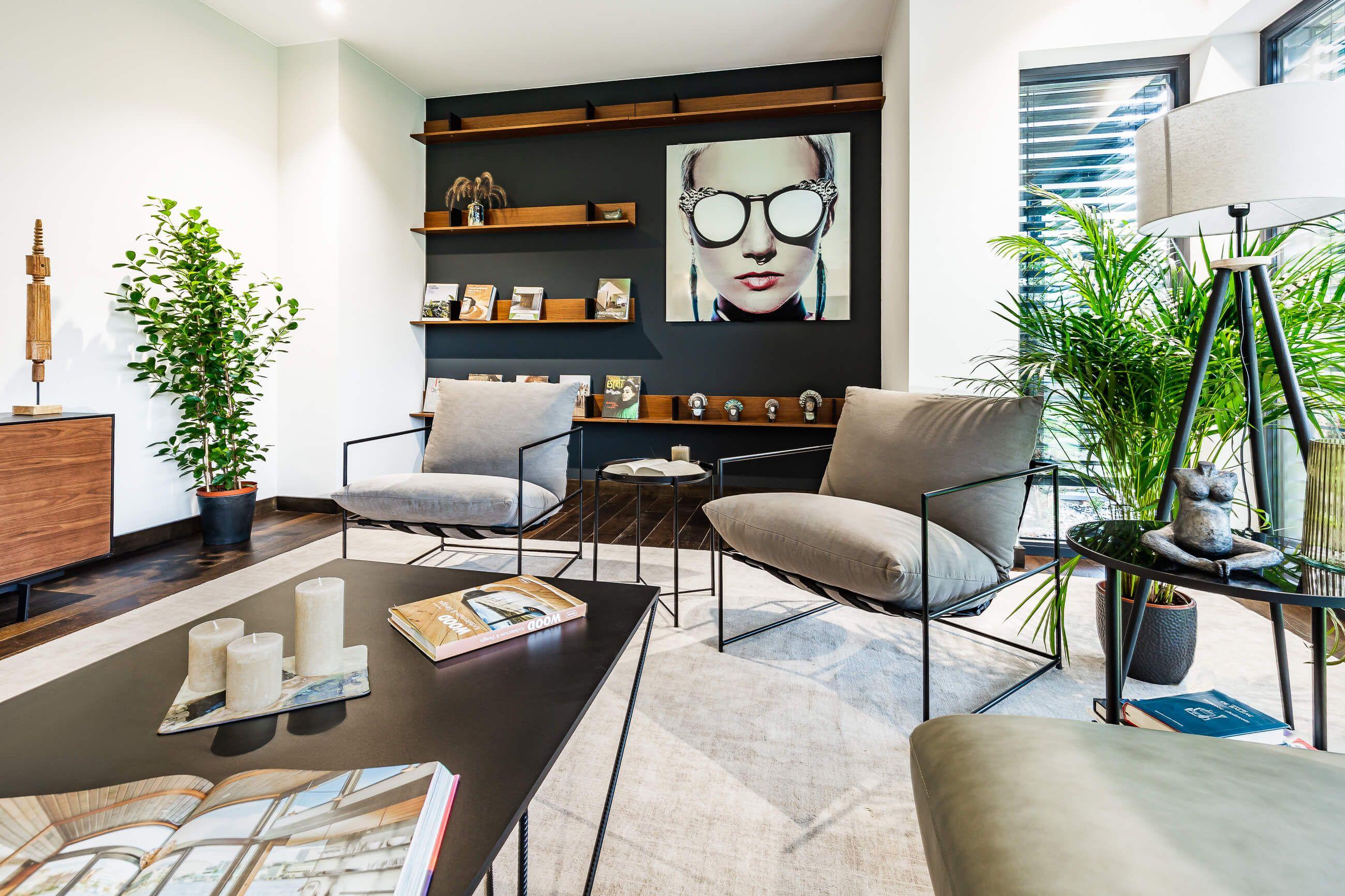 Zdjęcie wnętrza luksusowego domu dla dewelopera