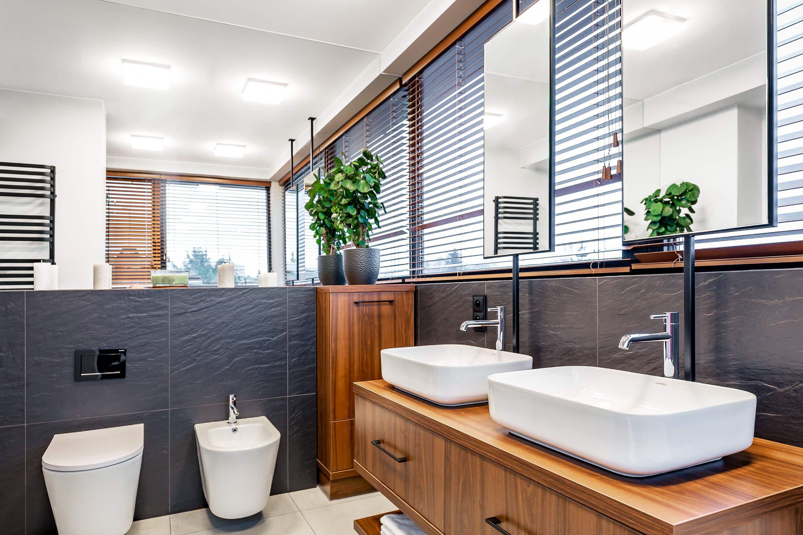 Zdjęcie łazienki w luksusowym apartamencie - Poznań