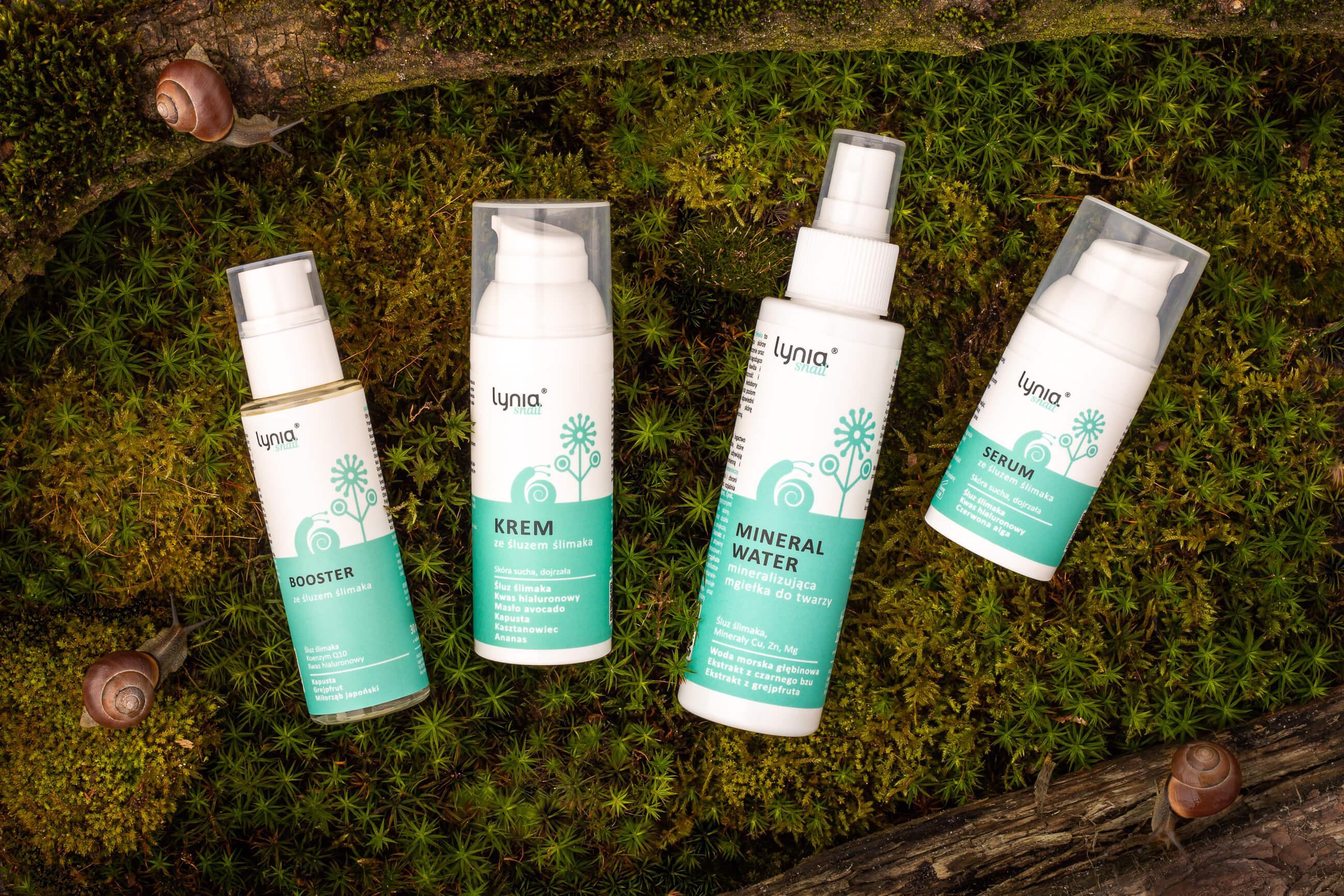 Zdjęcie reklamowe kosmetyków - aranżacja