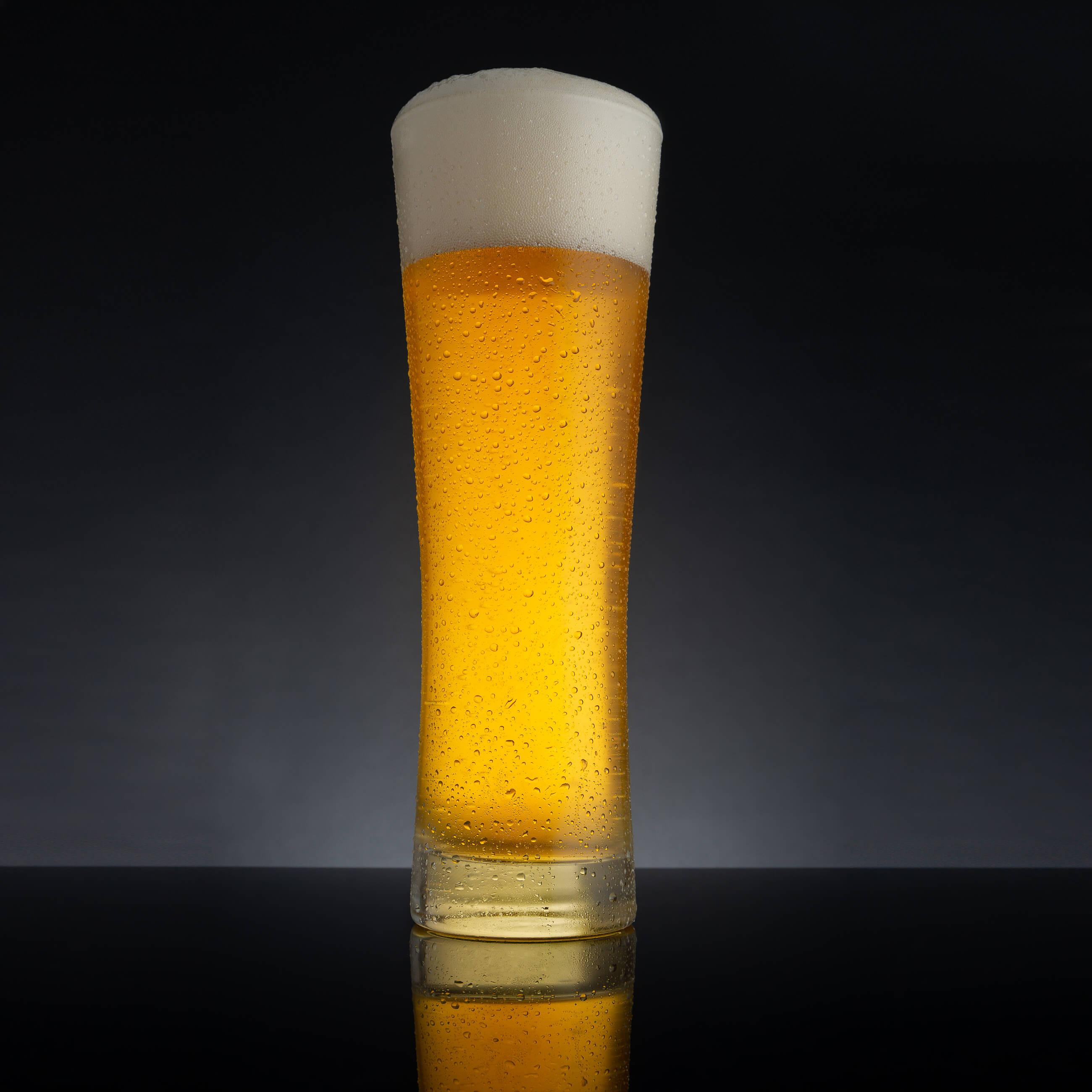 Zdjęcie zmrożonego kufla piwa