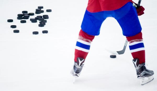 Hockey-spiller