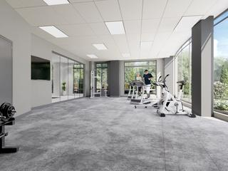 Gym area where guest can enjoy physical activities
