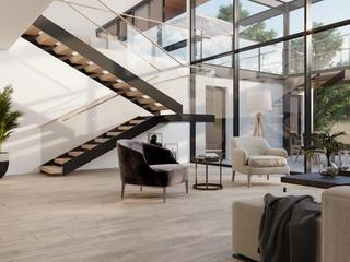 Virtual room Showcasing floor variation
