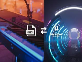 Connecting MIDI signal to Unreal Engine