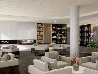 3D View of the lounge area