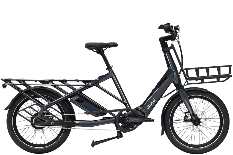 Whee! sykkel med fothviler og frontbærer