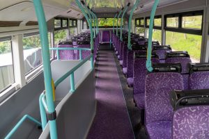 Airbbubl's installed in the bus