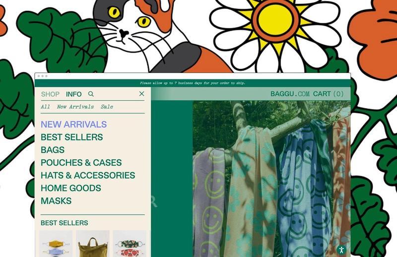 Baggu home page