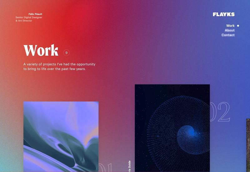 Work page for flayks.com