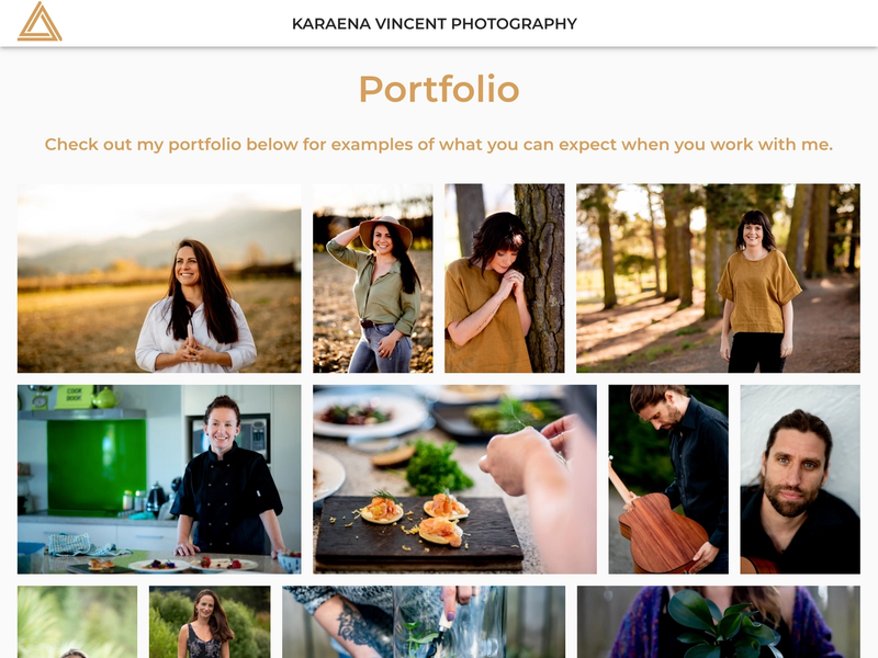 Karaena Vincent's photography portfolio