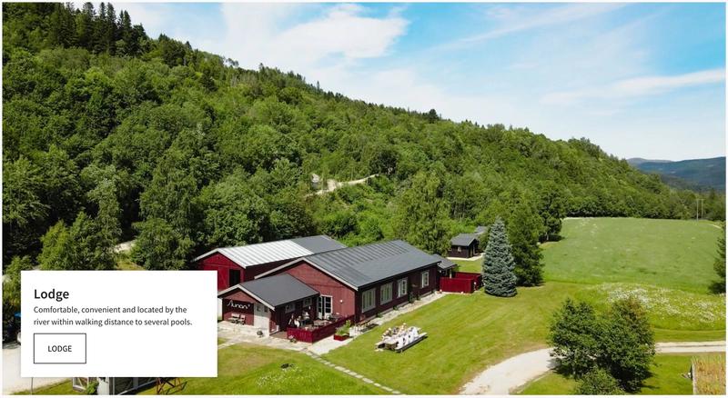 Grindal Lodge website