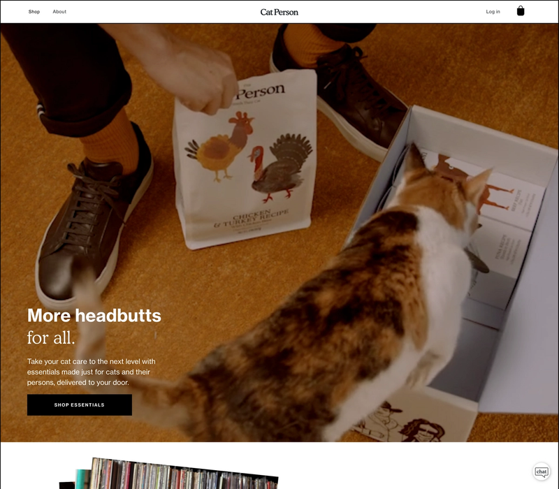 The Cat Person Homepage