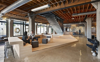 Sanity.io has their US offices at Heavybit in San Francisco