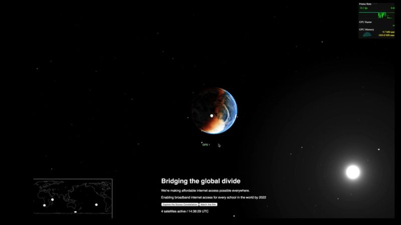 WebGL and Sanity powered website
