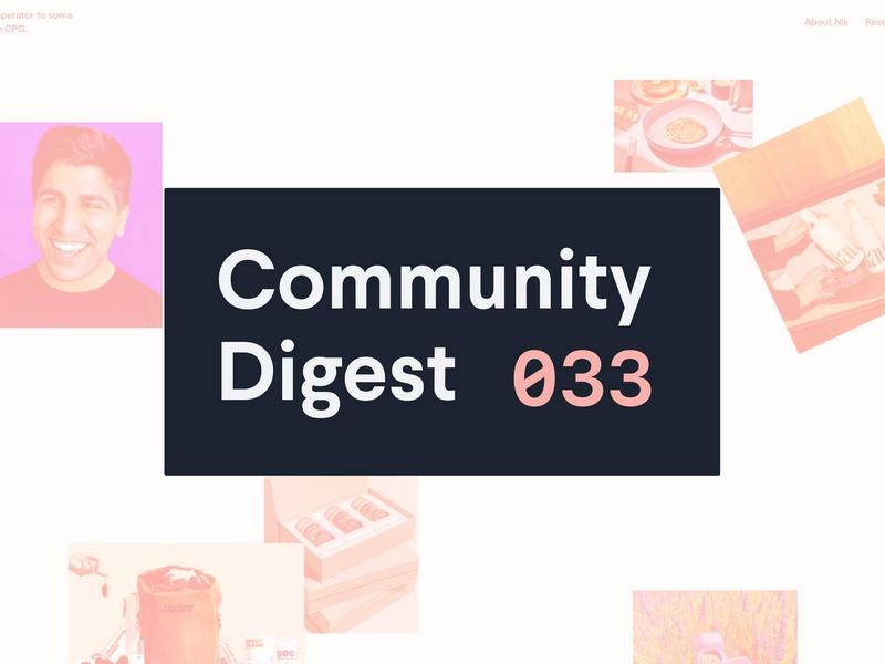 Community Digest #33: Vercel, Gatsby, and a portfolio
