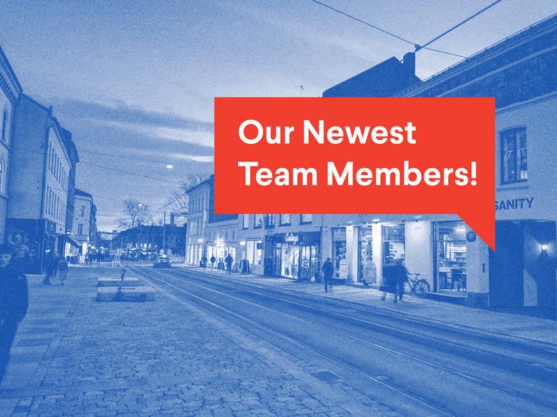 Meet our newest team members