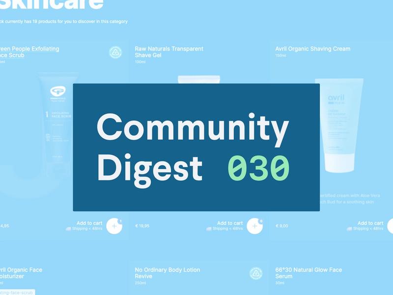 Community Digest 030