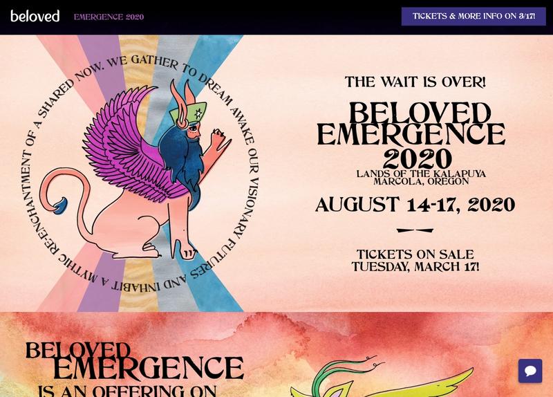 The Beloved Emergence frontpage