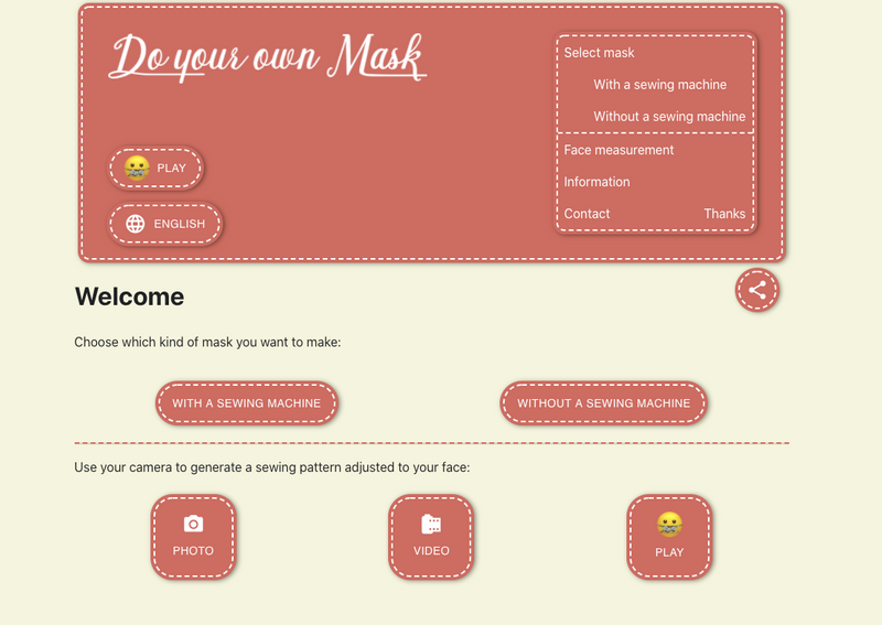 DIY Mask interface