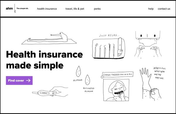 The homepage of www.ahm.com.au