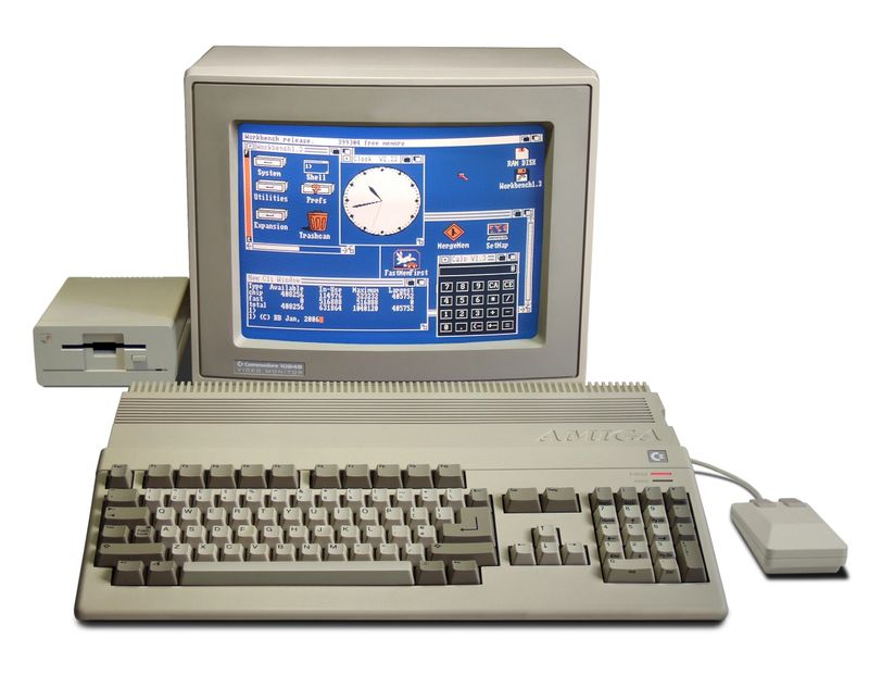 The Amiga 500 personal computer system. Hopefully your content doesn't go that far back. (photo © Bill Bertram 2006, CC-BY-2.5)