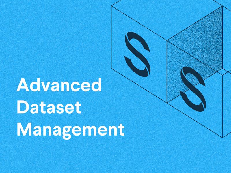 Advanced Dataset Management