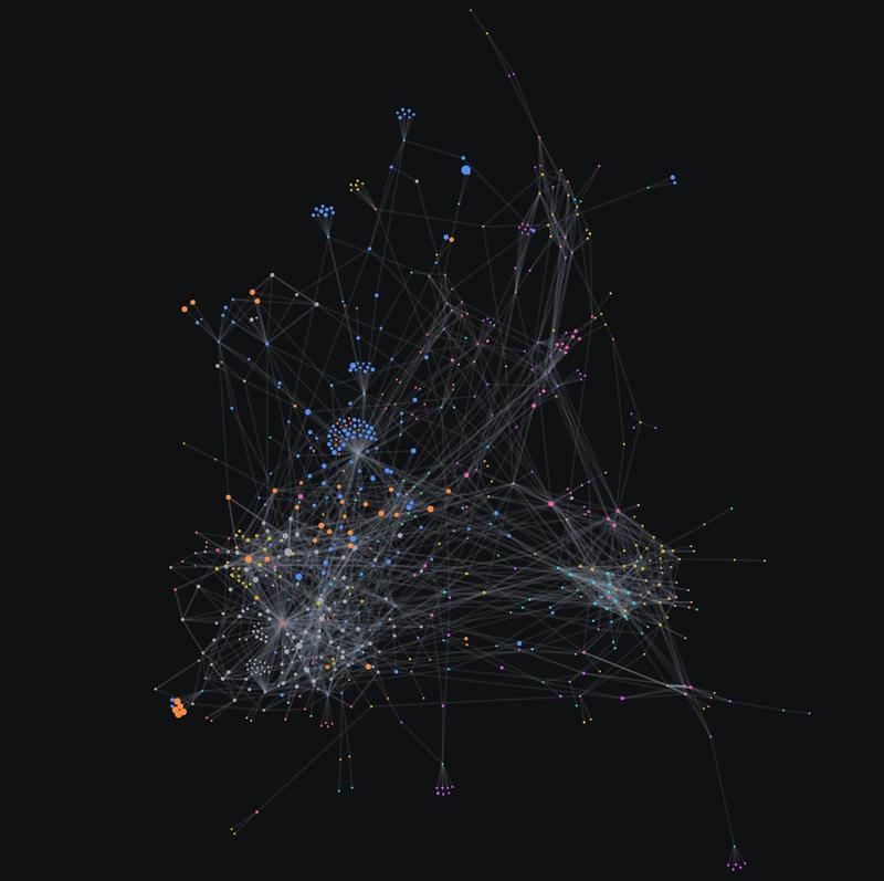 Web of data using Graph Tool plugin
