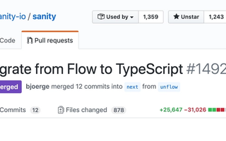 A screenshot of the GitHub Pull request