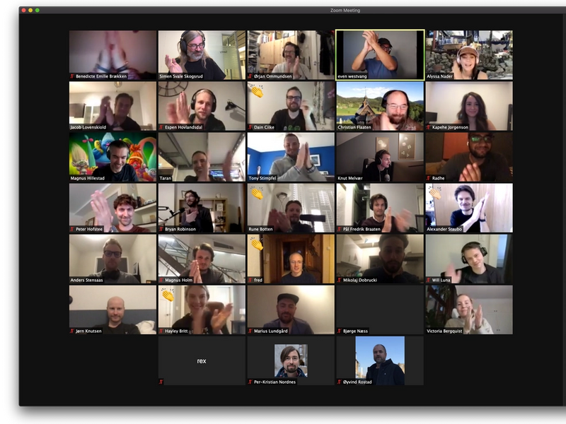 Virtual All Hands