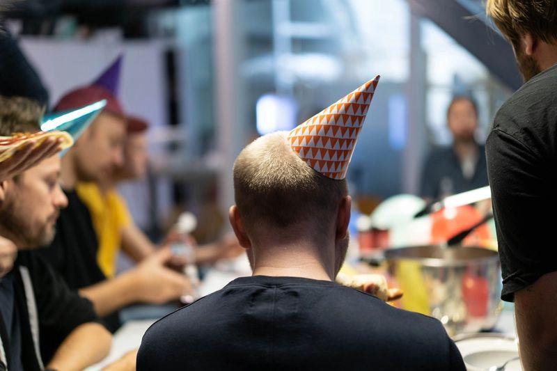 Celebratory hats