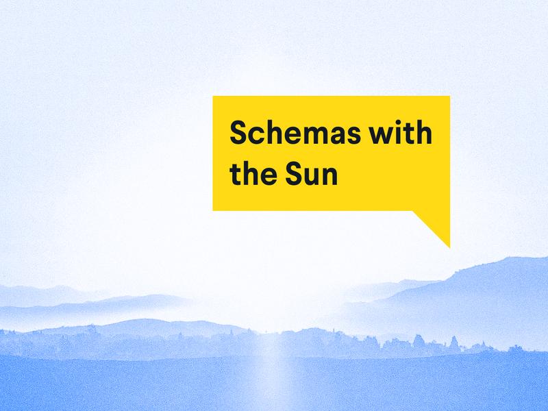 Schema with the sun: Watch the 14-hour live stream schema hackathon