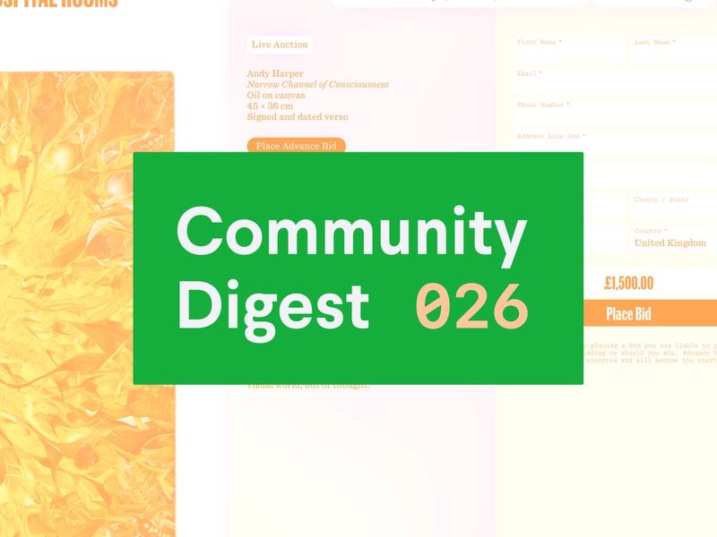 Community Digest 026
