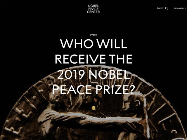 The Nobel Peace Center fasade