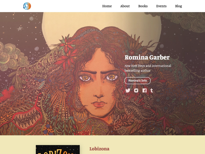 The homepage for rominagarber.com