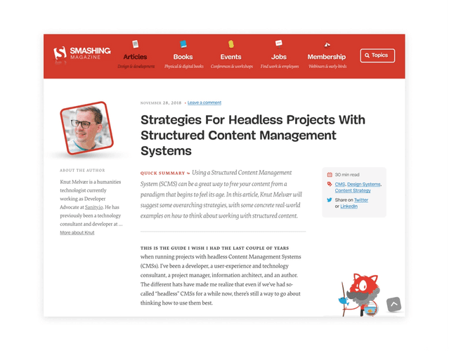 Strategies For Headless Projects