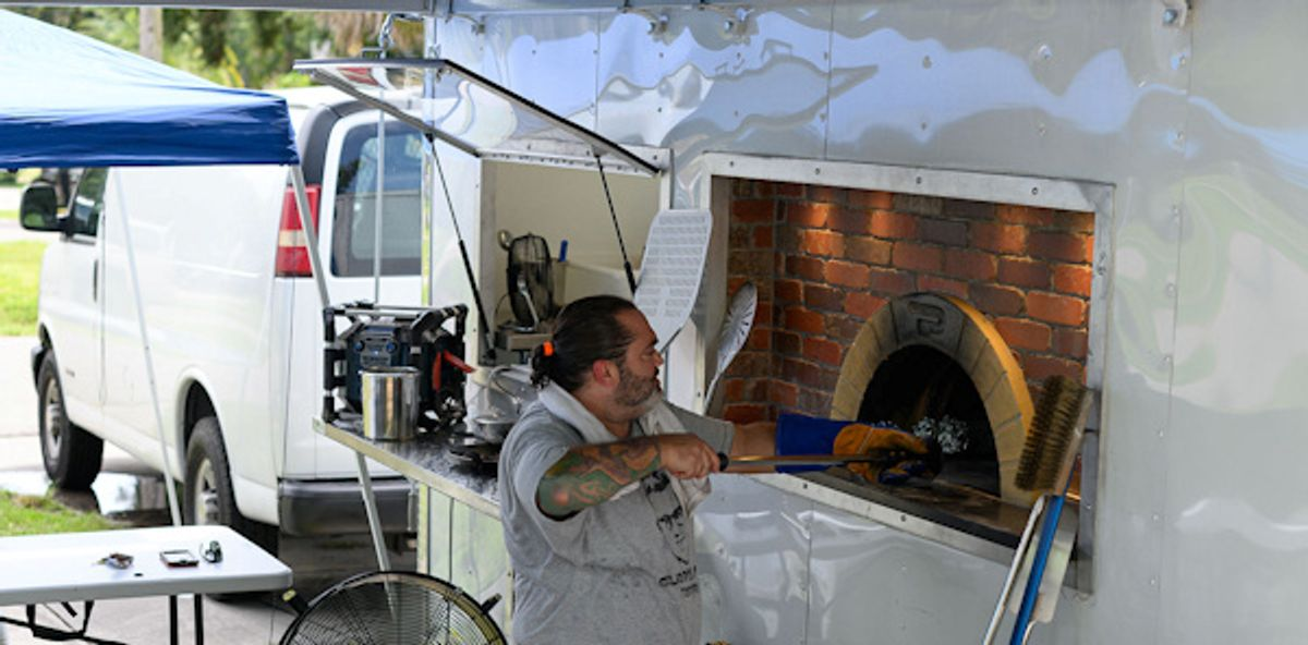 Neapolitan Wood Fired Pizza Truck
