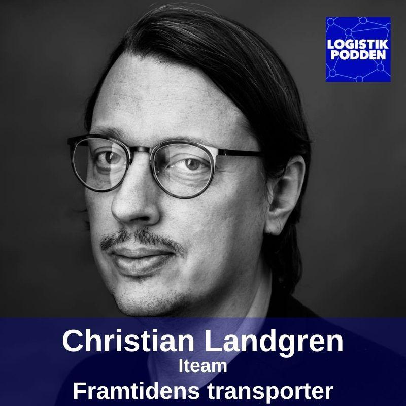 Christian Landgren i Logistikpodden