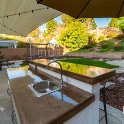 Backyard Patio Sink