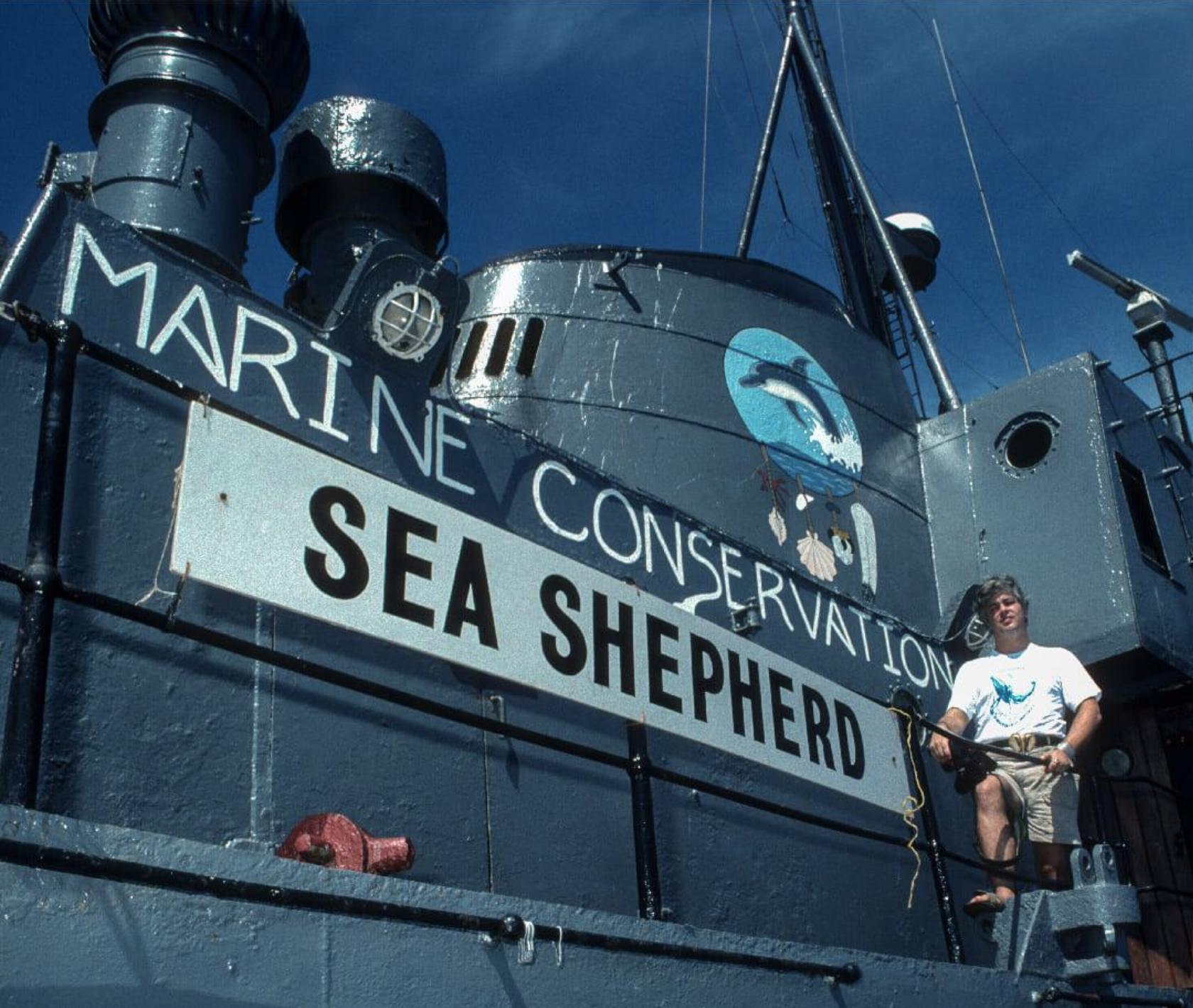 Sea Shepherd Captain, Paul Watson