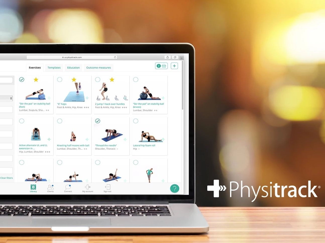 Exercise plans and patient video calling